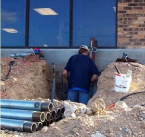 commercial structural repair by Matthews Structural Solutions